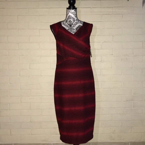 Eci Dresses New York Red And Black Maxi Dress Poshmark